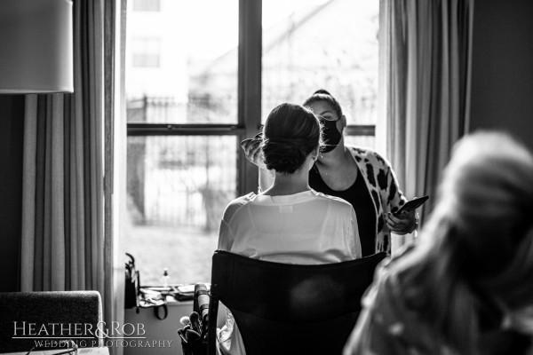 Brittany& Trey Wedding Savage Mill-101