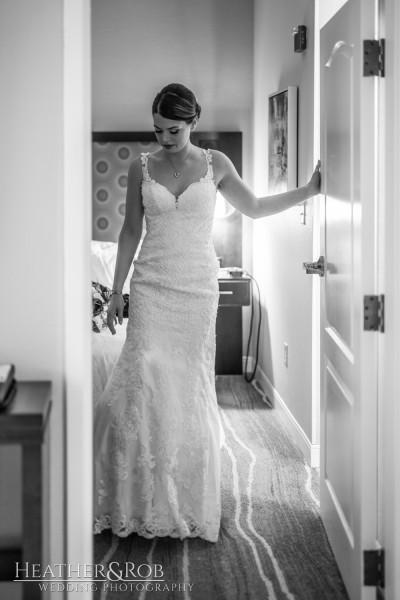 Brittany& Trey Wedding Savage Mill-116
