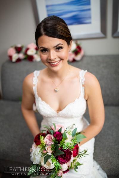 Brittany& Trey Wedding Savage Mill-119