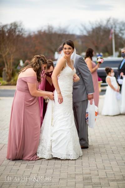 Brittany& Trey Wedding Savage Mill-150