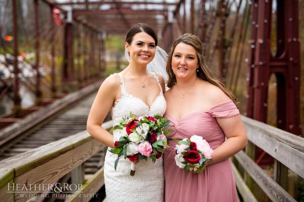 Brittany& Trey Wedding Savage Mill-152