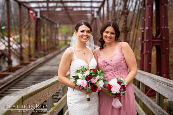 Brittany& Trey Wedding Savage Mill-154
