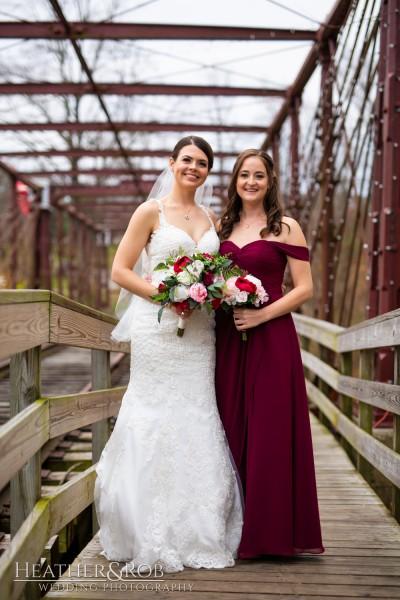 Brittany& Trey Wedding Savage Mill-155