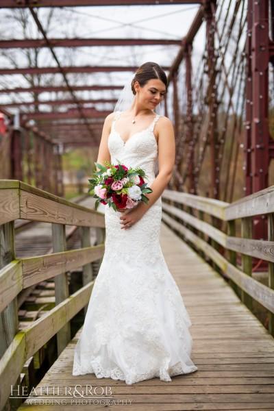 Brittany& Trey Wedding Savage Mill-157
