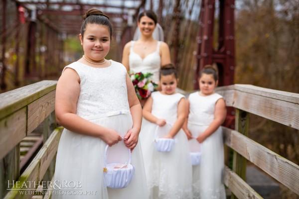 Brittany& Trey Wedding Savage Mill-159