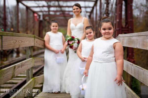Brittany& Trey Wedding Savage Mill-161