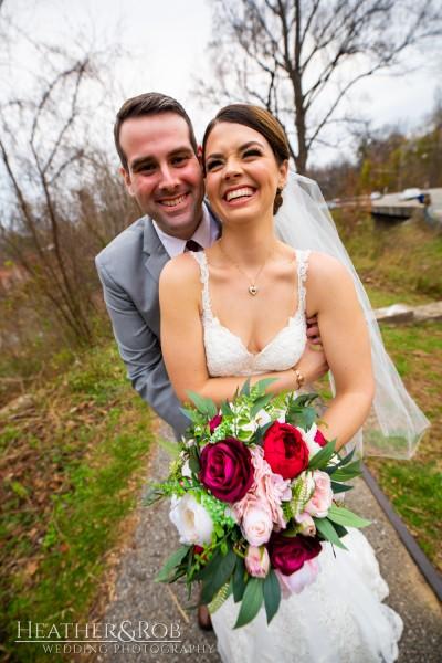 Brittany& Trey Wedding Savage Mill-164