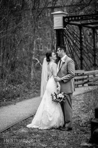 Brittany& Trey Wedding Savage Mill-167
