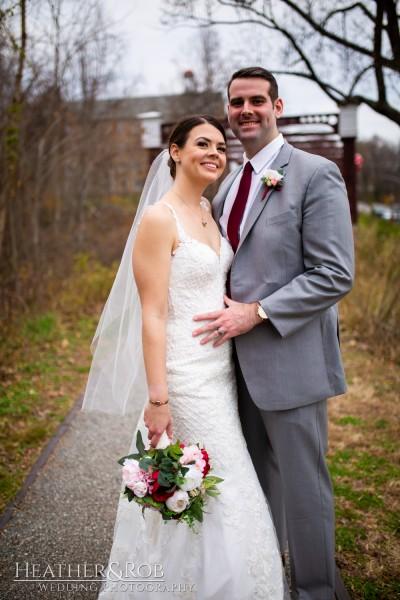 Brittany& Trey Wedding Savage Mill-168