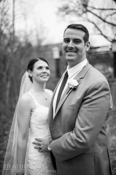 Brittany& Trey Wedding Savage Mill-169