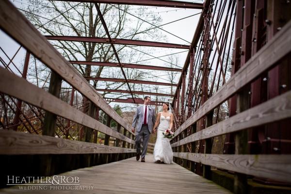 Brittany& Trey Wedding Savage Mill-171