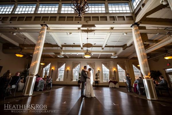 Brittany& Trey Wedding Savage Mill-175