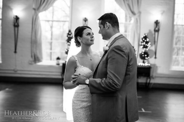 Brittany& Trey Wedding Savage Mill-177