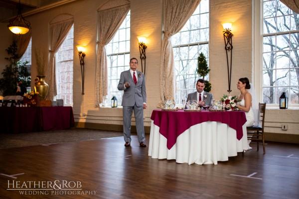 Brittany& Trey Wedding Savage Mill-184