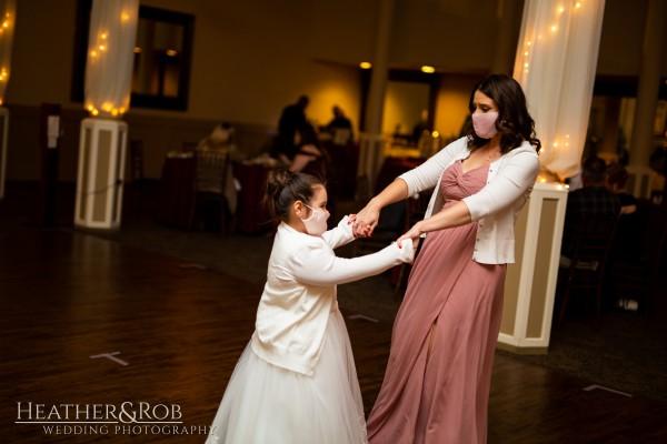 Brittany& Trey Wedding Savage Mill-190