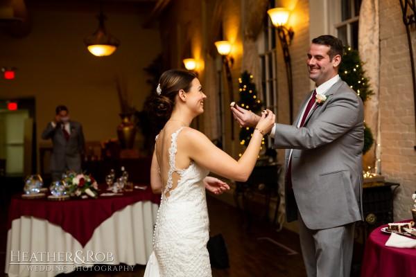 Brittany& Trey Wedding Savage Mill-192