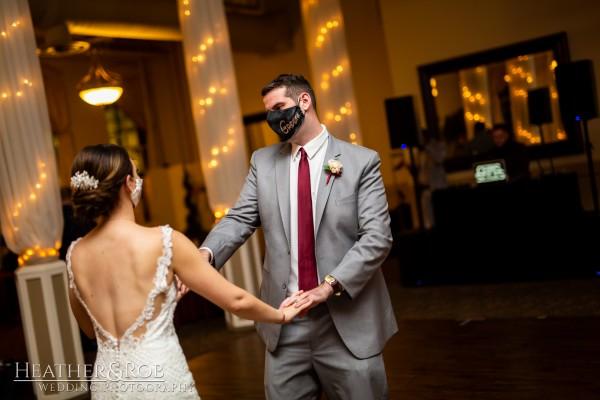 Brittany& Trey Wedding Savage Mill-201