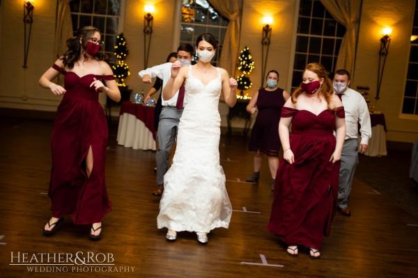 Brittany& Trey Wedding Savage Mill-202