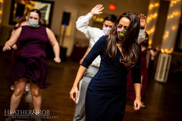 Brittany& Trey Wedding Savage Mill-203