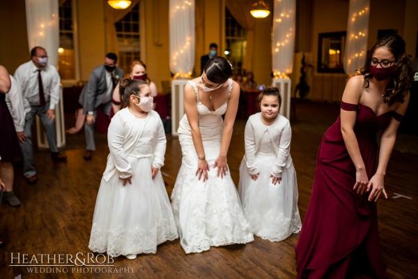 Brittany& Trey Wedding Savage Mill-205