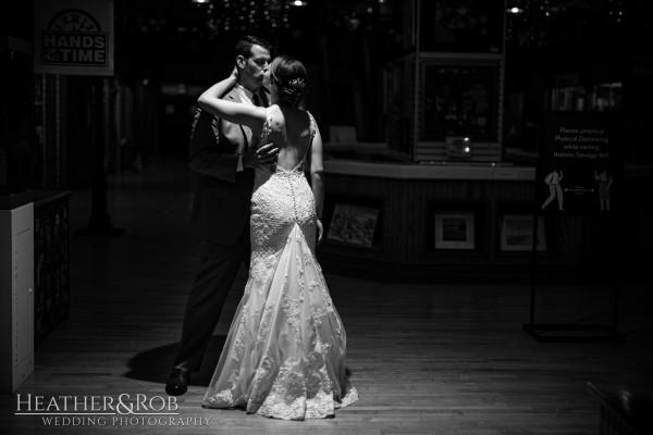 Brittany& Trey Wedding Savage Mill-211
