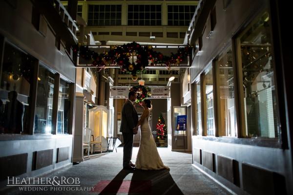 Brittany& Trey Wedding Savage Mill-213
