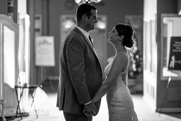 Brittany& Trey Wedding Savage Mill-214