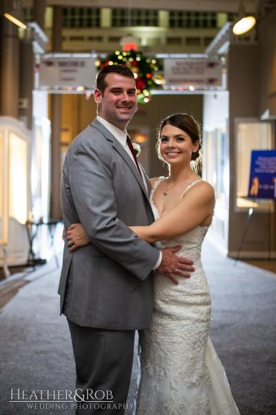 Brittany& Trey Wedding Savage Mill-215