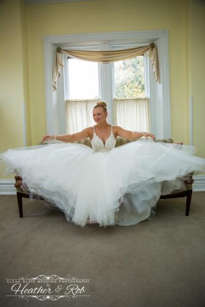 Jessica & Nick Ceresvile Mansion Wedding-132