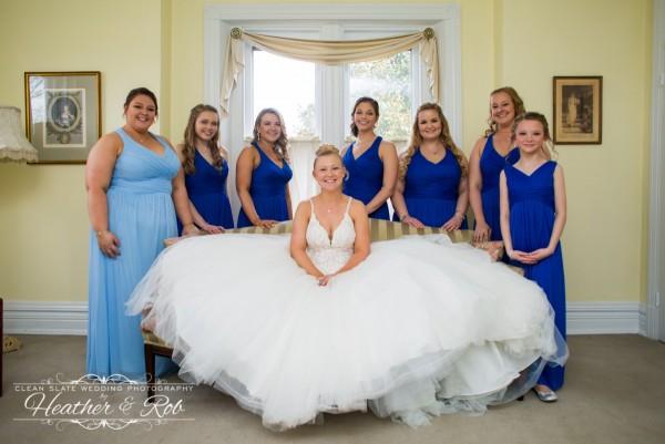 Jessica & Nick Ceresvile Mansion Wedding-139