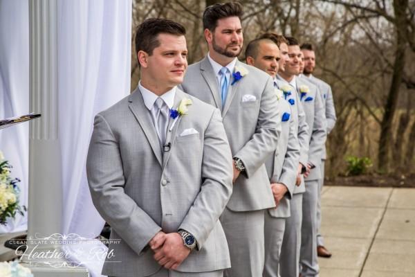 Jessica & Nick Ceresvile Mansion Wedding-149
