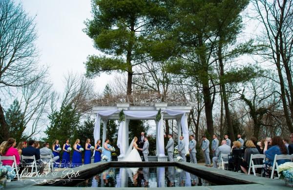Jessica & Nick Ceresvile Mansion Wedding-153