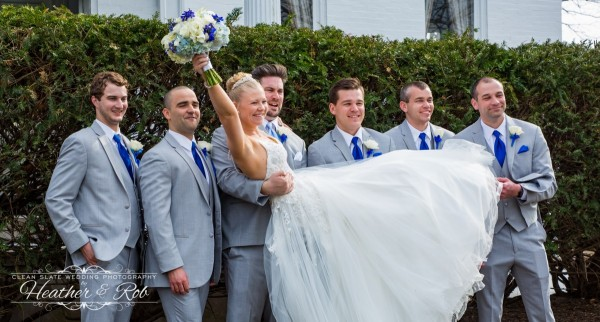 Jessica & Nick Ceresvile Mansion Wedding-171