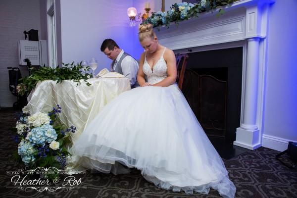 Jessica & Nick Ceresvile Mansion Wedding-196