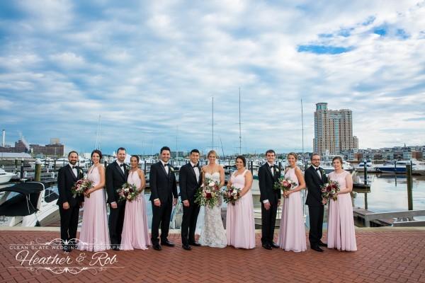 Julie & Denny Wedding Four Seasons Baltimore-155